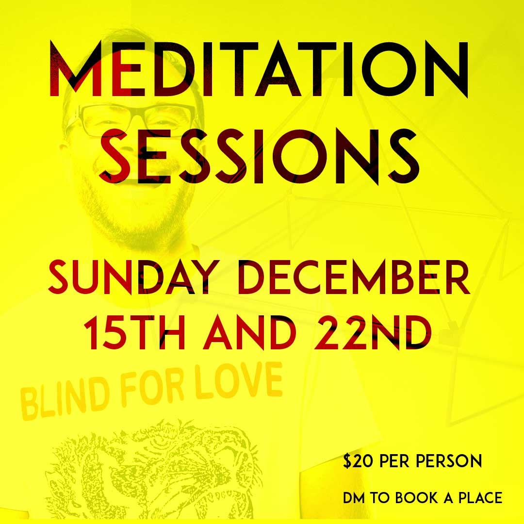 Meditation sessions Sunday 15th and 22nd December
