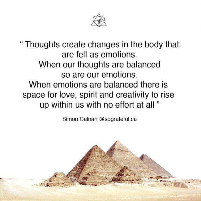 balance the mind balance the emotions